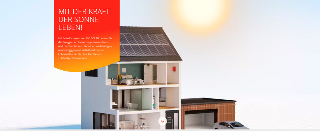 IBC SOLAR Mit der Kraft der Sonne leben