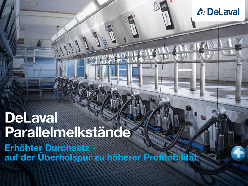 DeLaval-Parallelmelkstaende
