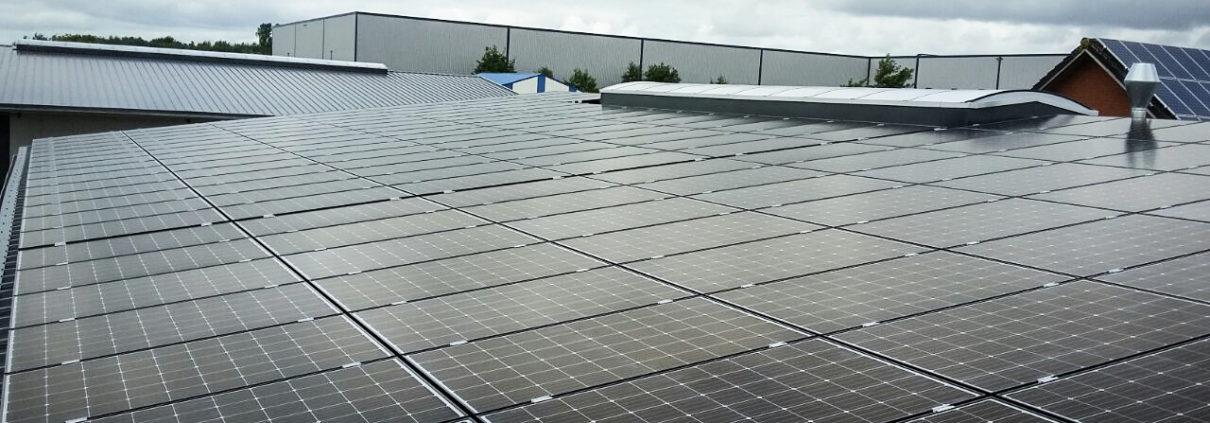 Solarenergie im Herbst