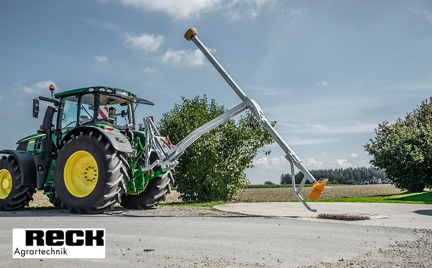 Güllemixer am Traktor