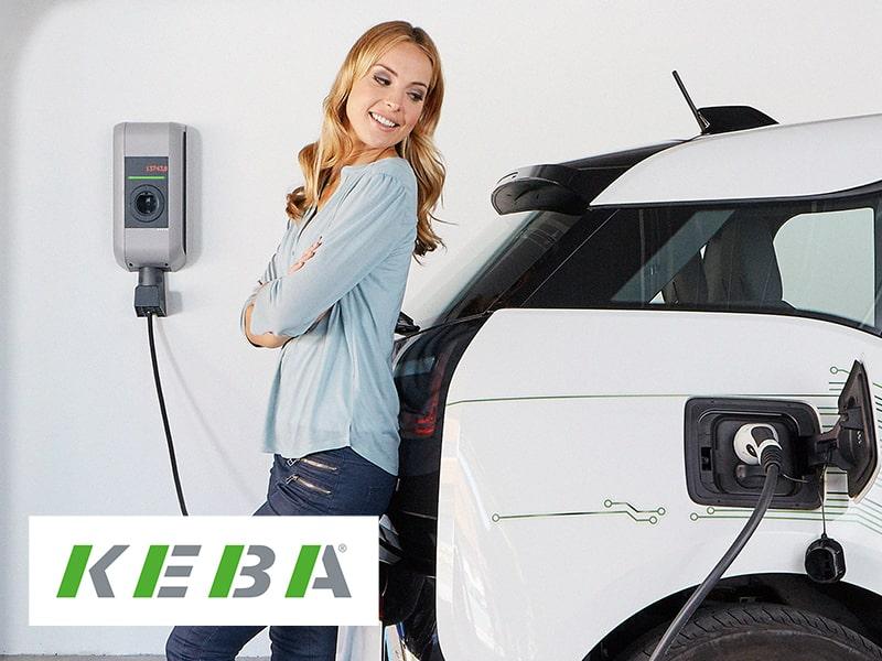 KEBA Ladestation Elektroauto für zu Hause