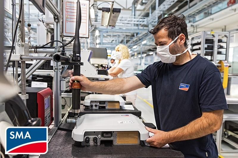 SMA e-Charger Produktion